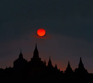 Bagan twilight