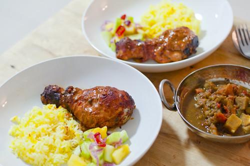 Easy Tandoori Chicken with Acar
