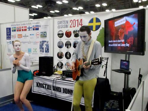 20_インタラクティブの他にも各国の音楽をプロモーションするブースも