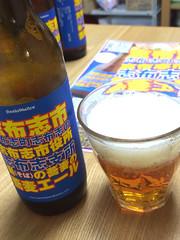 サンクトガーレンの志布志蕎麦ビール!