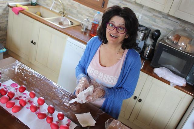 Βάφουμε Πασχαλινά αυγά