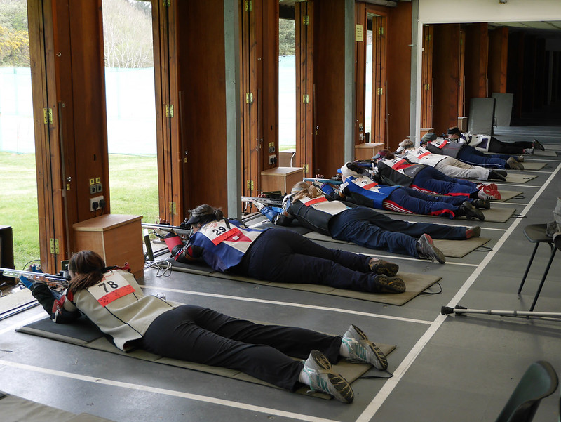 The women's prone final