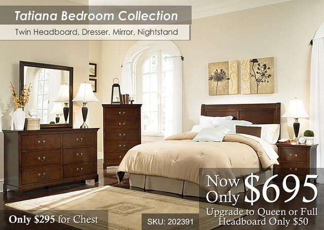 Tatiana Bedroom Set