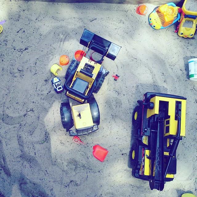In the sandbox