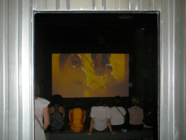 Wael Shawky, Cabaret Crusades. The Horror Show File, installation view at the 12th Istanbul Biennial 2011