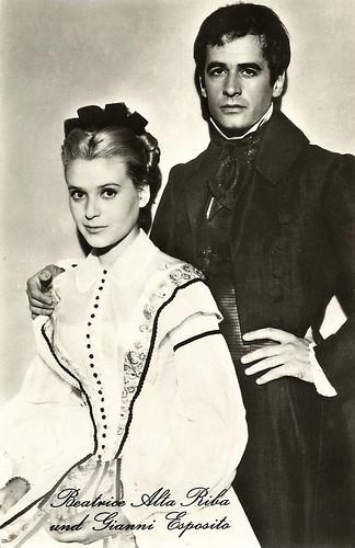 Béatrice Altariba and Gianni Esposito in Les misérables (1958)