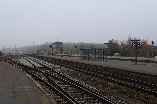 Bahnsteig Bahnhof Nykøbing // bahnhof-1100775