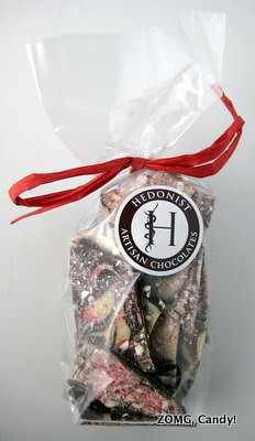 Hedonist Chocolate - Candy Cane Bark