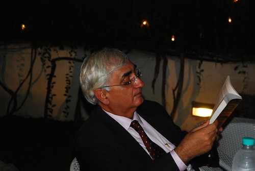 Launch of CA Rajiv Soni's book 'Seher' - by Hon Minister for Law & Justice Salman Khurshid Sahib | by firoze shakir photographerno1