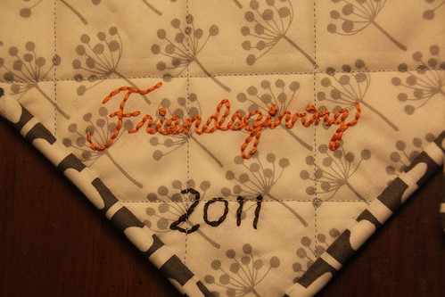 Friendsgiving Potholders