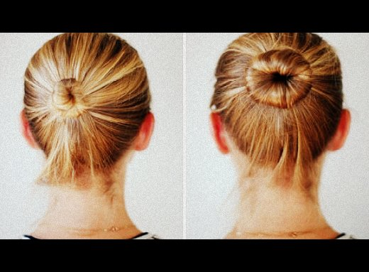 diy-sock-bun