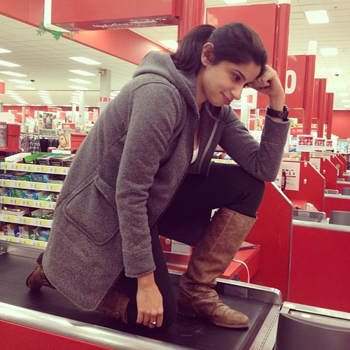 Conveybowing @target on #blackfriday #tebowing