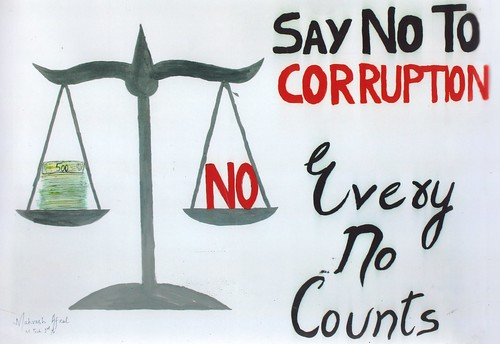 Role of Youth in eradicating corruption in India_