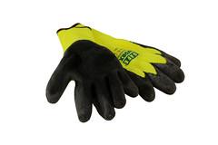 safety glove, yellow, glove,