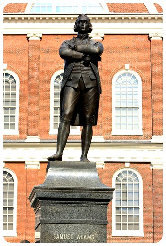 boston samuel adams statue
