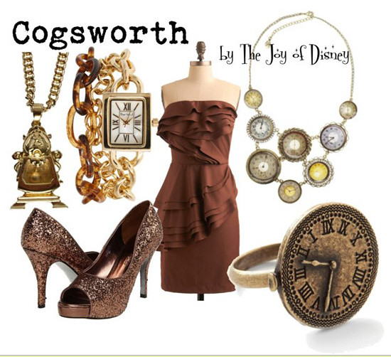 Inspired by: Cogsworth -- Beauty & the Beast