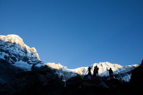 尼泊尔 安纳普尔纳 安纳普尔纳大本营 abc annapurna annapurnaconservationarea annapurnabasecamp nepal peak annapurnai annapurnasouth dakshin 日出 sunrise