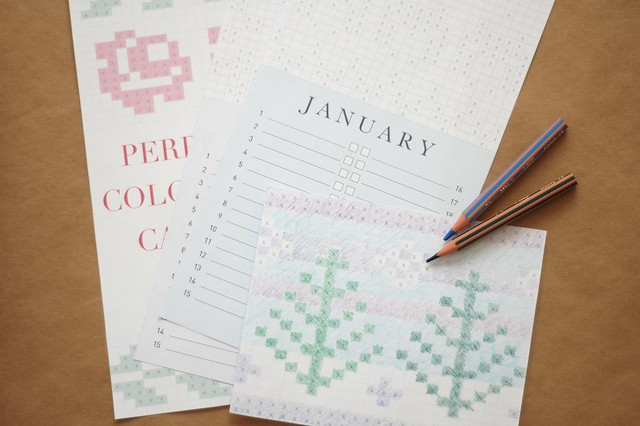 printable knitting calendar