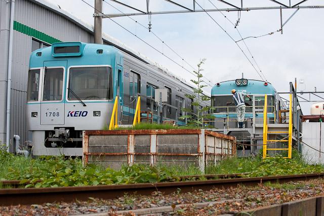 京王電鉄井の頭線3000系 3029F 0608