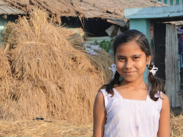 nepal rural village girl