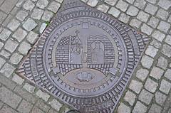 Manhole art
