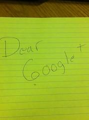 Dear Google+