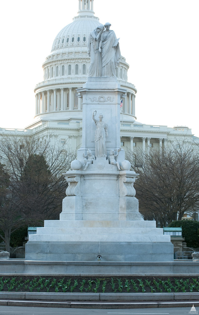 Peace Monument Architect Of The Capitol