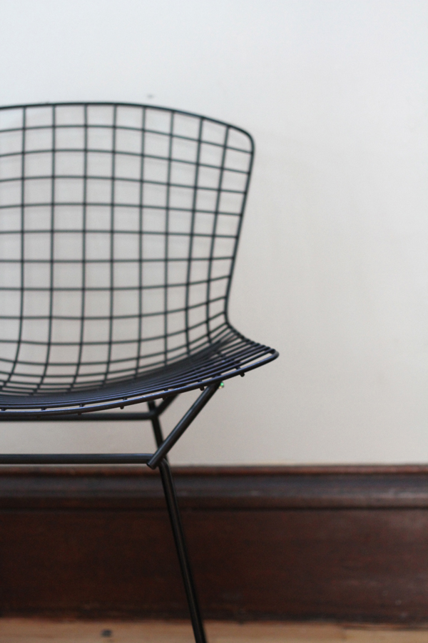 Around the House - Bertoia Chair