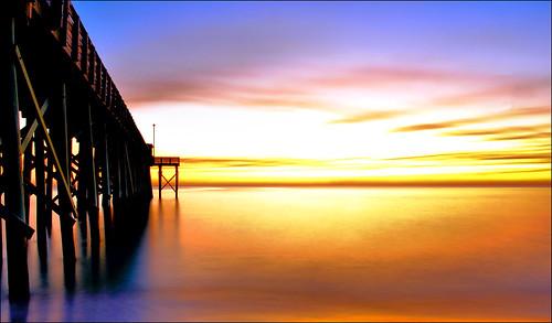 gulfofmexico nature water pier florida panamacitybeach fishingpier standrewsstatepark floridastateparks nikond3100 nikkor1855afsvrlens