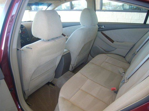 2008 Nissan Altima  Interior Back  San Antonio, Texas