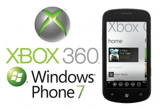 Xbox-Communicator-with-WP7-phone-Windows-Phone-7-logo-and-Xbox-logo-414x283