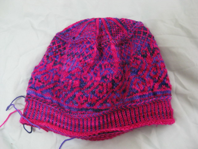 almost completed hat