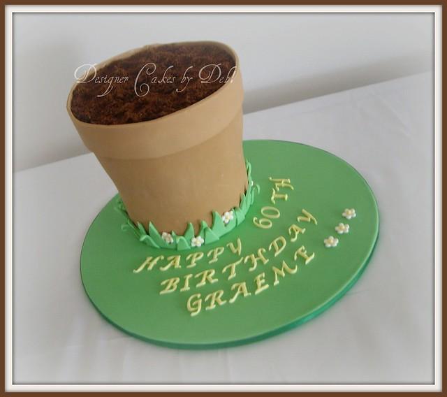 pot plant cakes
