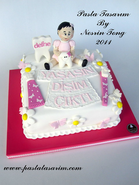 FIRST TOOTH CAKE - DEFNE