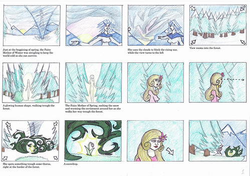 Legend of March Trinket - Storyboard 1/2
