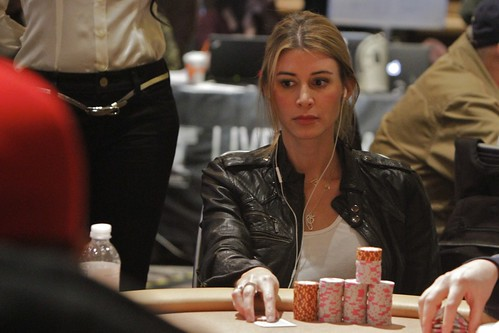 Poker player wags