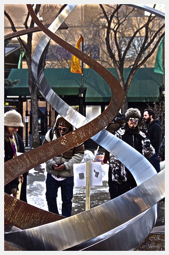 Occupy Calgary - sculpture by Wanderfull1