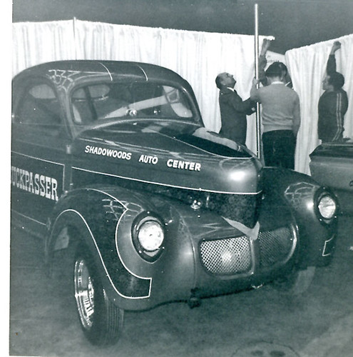 Buckpasser B/G Willys at 1968 Detroit Autorama