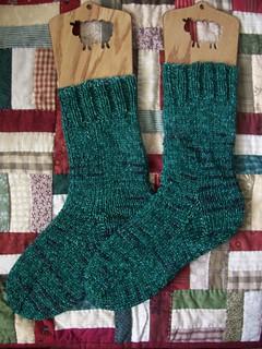 Mistletoe Socks