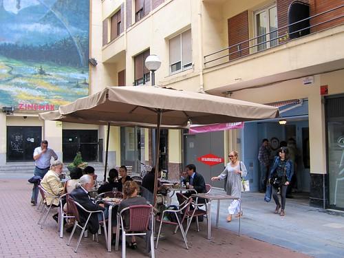 Terraza, Restaurante Un Señor de Bilbao