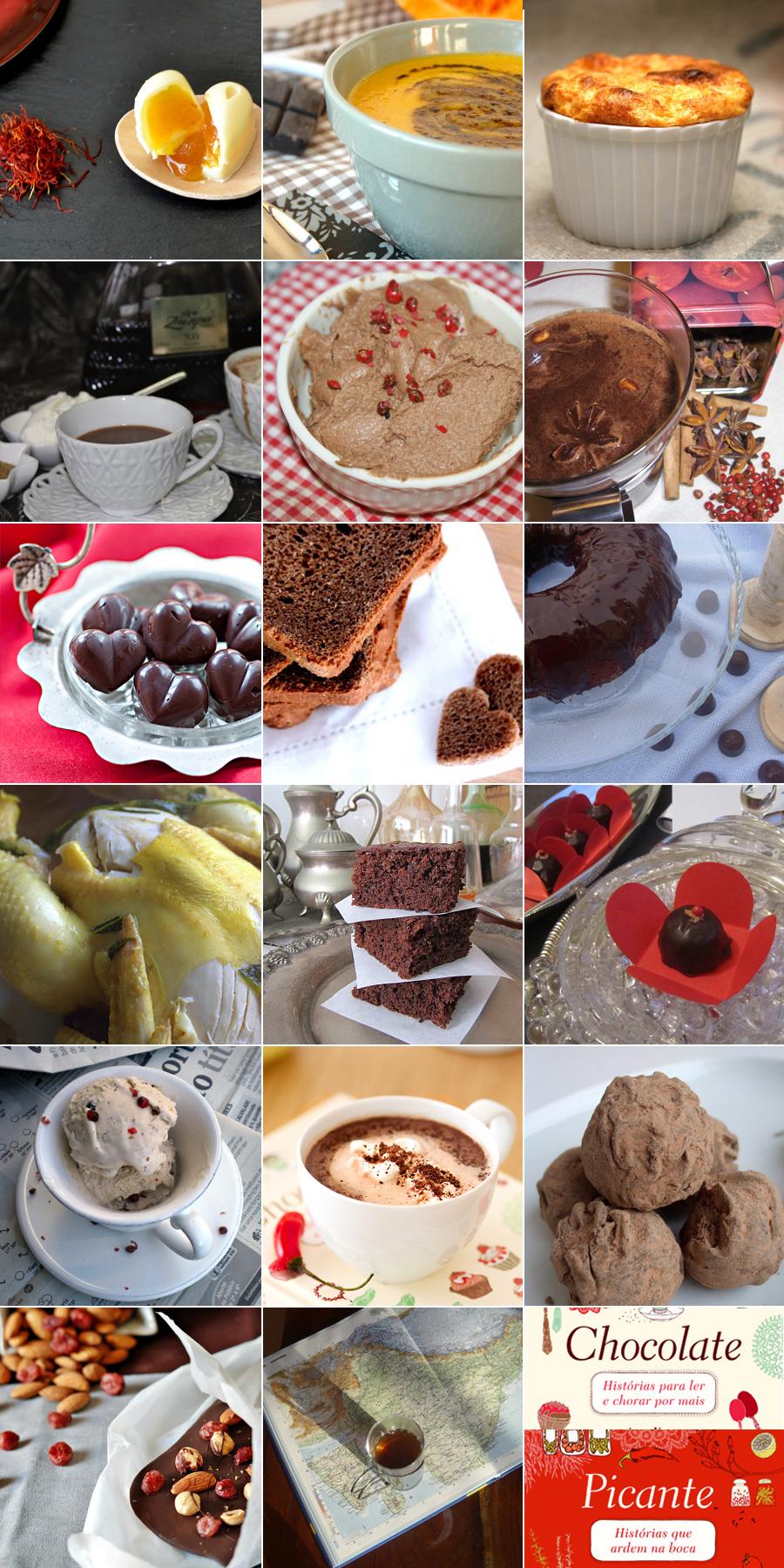 Chocolate & Picante: um desafio de receitas com histórias dentro