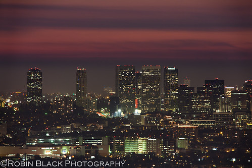 Century City Skyline (Los Angeles), Blue Hour (or is it Pink Hour?)
