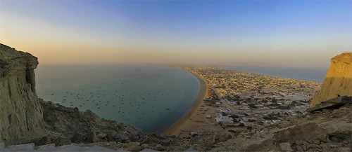 pakistan panorama beach beauty landscape fishing asia village view aerialview aerial gwadar birdeyeview balochistan gawadar fishharbor smrafiq gettyimagespakistanq1 gettyimagespakistanq12012