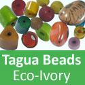 Tagua Beads Eco Ivory