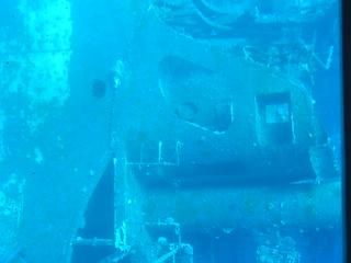 Barco hundido en el Golfo de Aqaba