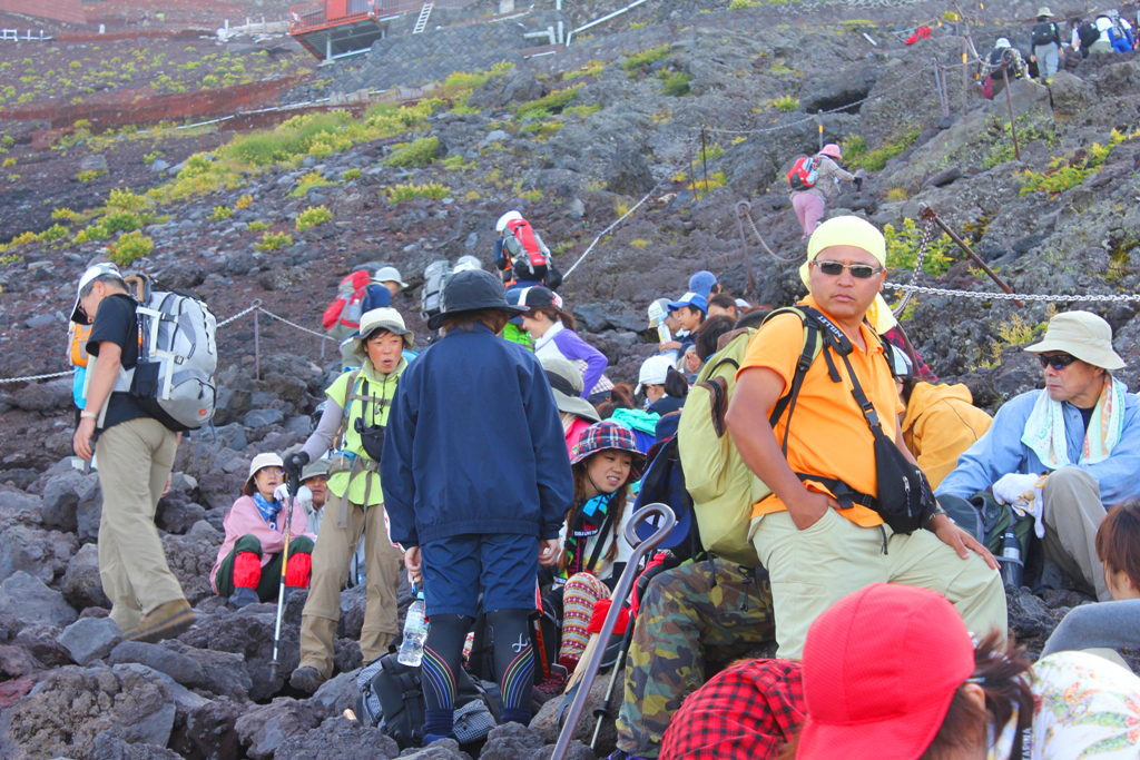 Mt. Fuji experience report (Yoshida route) Part2 (4)