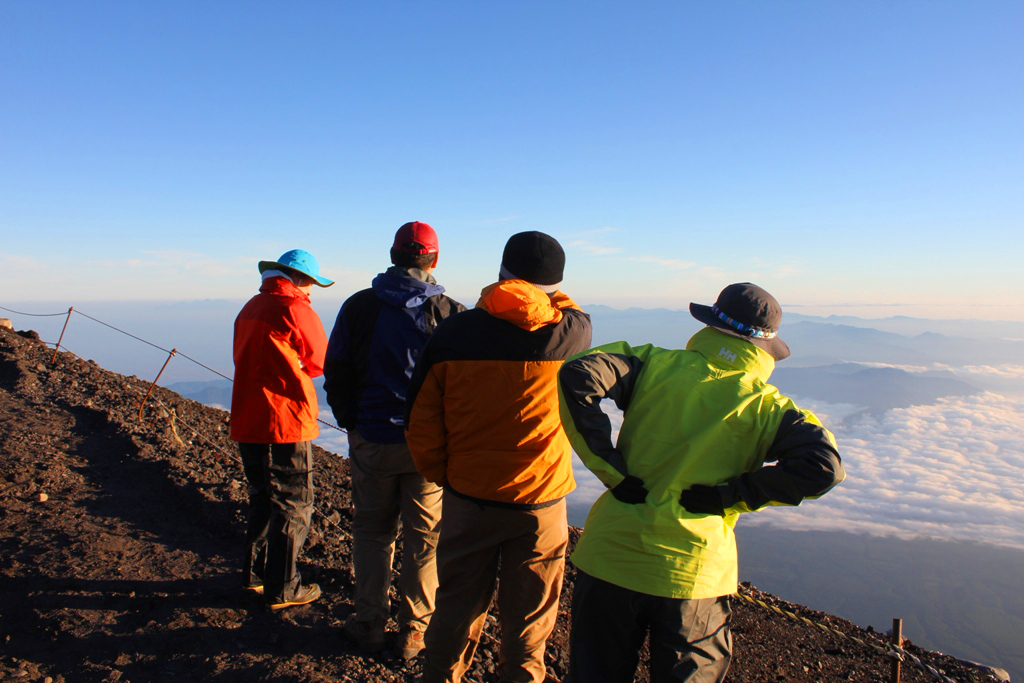 Mt. Fuji experience report (Yoshida route) Part3 (14)