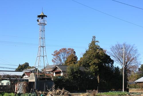 玉作の火の見櫓(熊谷市・旧大里町)