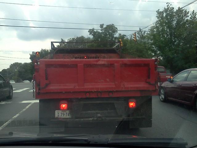 Red Dump Trucks