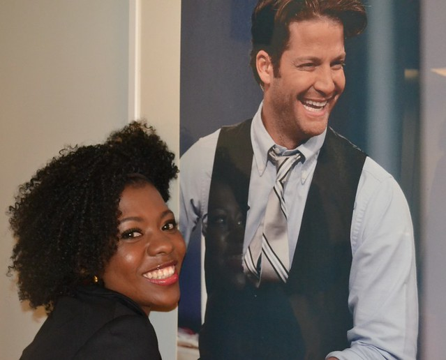 Patrice J. Williams, Nate Berkus, looking fly on a dime